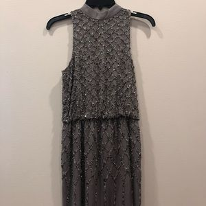 ABS Dress / Beaded / Great Holiday Dress